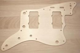 Gold Anodized Pickguard for '58 Jazzmaster